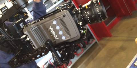 DJI Ronin With Extended Arms Meets The ARRI Amira Camera
