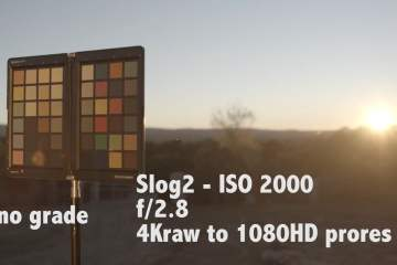 Slog2 Vs REC 709 for Sony FS700 Camera With Odyssey 7Q Recorder Monitor from Catch Air Films
