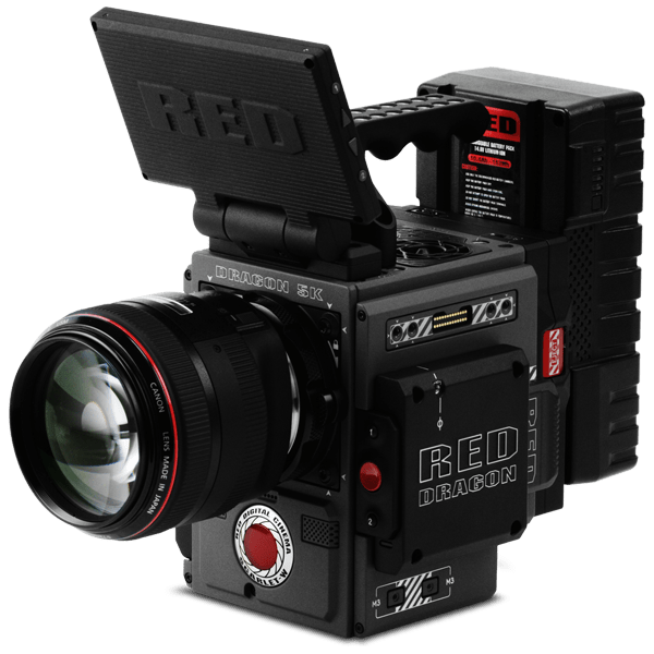 Red camera scarlet