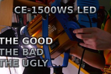 CAME-TV CE-1500WS LED Light Review