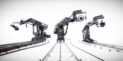 Bet Your Showreel Doesn't Have Three Awesome Robot Motion Control Rigs In it