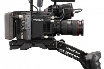 Varicam LT on Shoulder