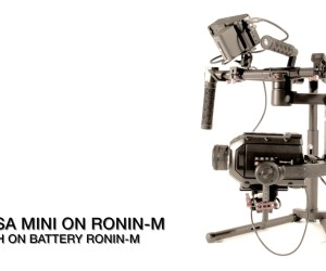 A Look at the URSA Mini Camera on a Ronin M: Both Using Ronin Battery