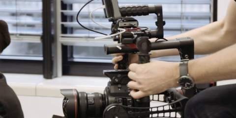 A very quick look at the ACR Systems gimbal used by LAUSCHSICHT