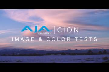AJA Cion Camera  Footage & Colour Test from David Kaufman
