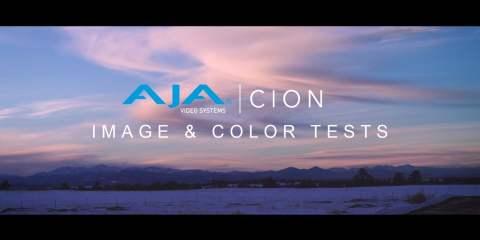 AJA Cion Camera  Footage & Colour Test from David Kaufman
