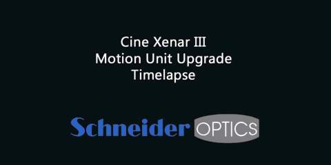 Down and Dirty Schneider Optics Cine Xenar III Motion Unit Upgrade