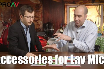 Rycote Accessories for Lav Mics