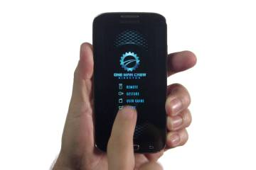 The OMC Remote App for One Man Crew Director from Redrock Micro