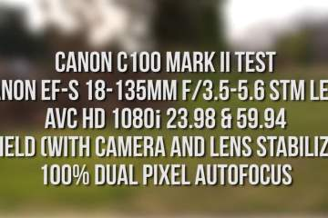 Canon C100 Mark II Camera Test from Aaron Mirtes