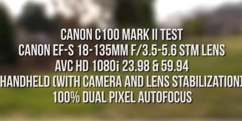 Canon C100 Mark II Camera Test from Aaron Mirtes