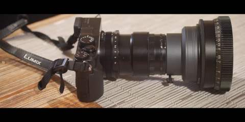 Panasonic LX100 Does 4K 3:2 Anamorphic With Baby Hypergonar & SLR Magic Rangefinder