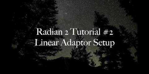 Radian 2 Tutorial: Linear Adaptor Setup from Alpine Labs