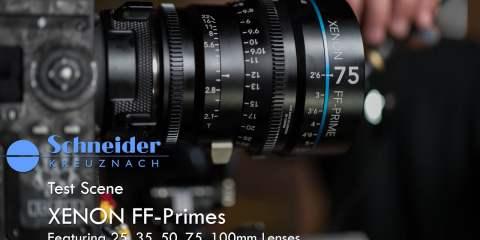 Schneider Xenon FF Prime Lens Demo