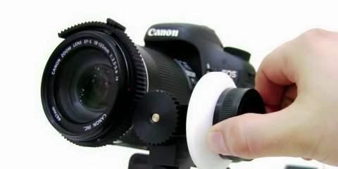 See The TECHIZ DSLR Camera Rig In Rotation Mode! + ODAK Follow Focus: