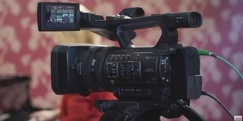Sony PXW-Z150 4K XDCAM Camcorder at BVE 2016