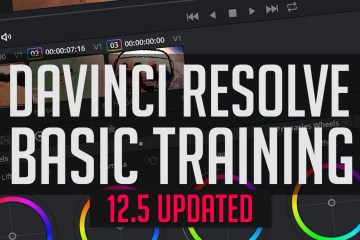 DaVinci Resolve 12.5 Basics: An End-To-End Crash Course
