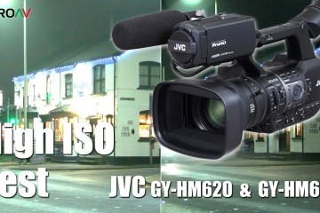 JVC GY-HM620 & JVC GY-HM660 Camera's Low Light Testing