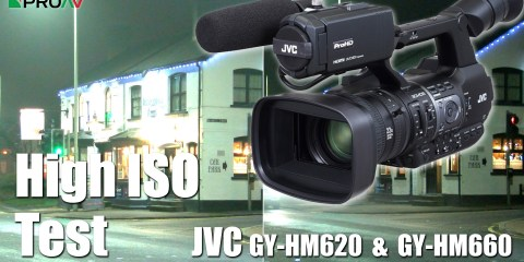 JVC GY-HM620 & JVC GY-HM660 Camera's Low Light Testing