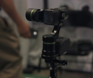 NAB 2016: LanParte Gimbals, LA3D for GoPro or Smartphones with Wireless Control Unit