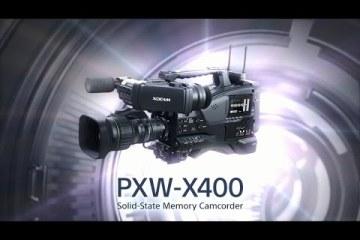 Sony 2/3″ XAVC PXW-X400 Promotion Video