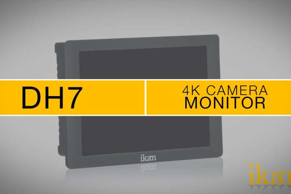 A Look at the Ikan DH7 7 Inch 4K Signal Support 1920×1200 HDMI On-Camera Field Monitor