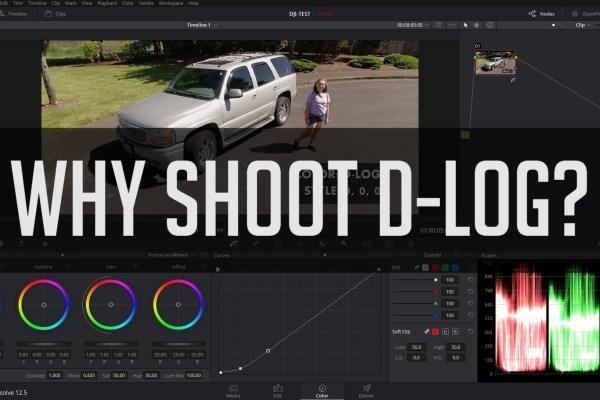 DJI Drone Settings: Why Shoot D-Log? A Casey Faris Tutorial