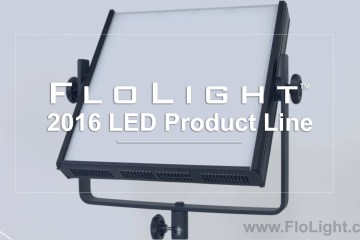 FloLight 2016 Product Video: LED Panel, BladeLight, & CycLight