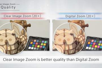 Sony Demo Clear Image Zoom Technology