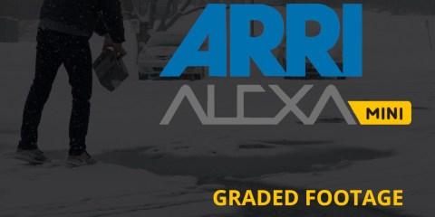 ARRI Alexa Mini Camera: ARRI LogC Vs Graded Footage Samples