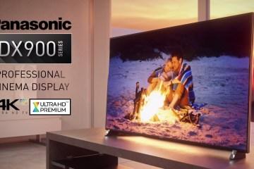 Panasonic's first Ultra HD Premium Certified TV, The VIERA DX900