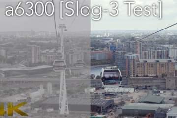 Sony a6300 Slog3 4K Testing
