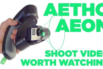 Get Up And Close To The Aeon Handheld GoPro Gimbal