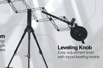 X-jib Scissors Crane System at IBC 2016