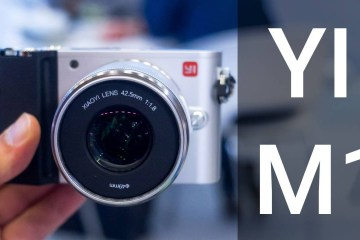 4K Yi M1 Camera Hands On and A Quick Review