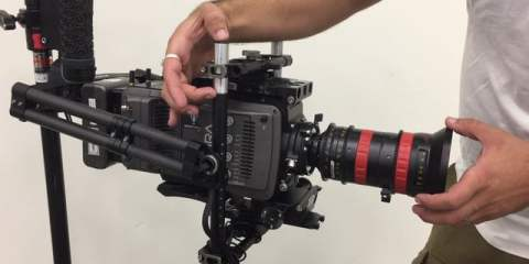 CineMilled Tests the TIlta Gravity Gimbal: Large, Heavy, Tall and Long Camera Test