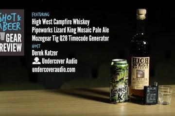Shot & Beer Gear Review: Moze Gear Tig Q28 BNC Timecode Generator