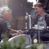 News : Photos de Stan Lee sur le tournage de The Avengers