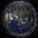 Basura en el espacio