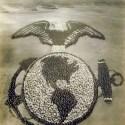 La insignia de los marines de Estados Unidos