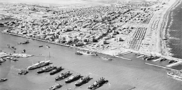 El Canal de Suez en la Guerra