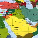 Mapa del conflicto Israel Palestino