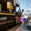 UPS ahorra gasolina sin dar giros a la izquierda.