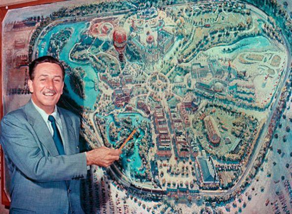 Mapa de Disney