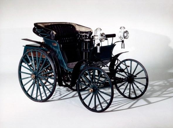 El Victoria 3 hp de Benz
