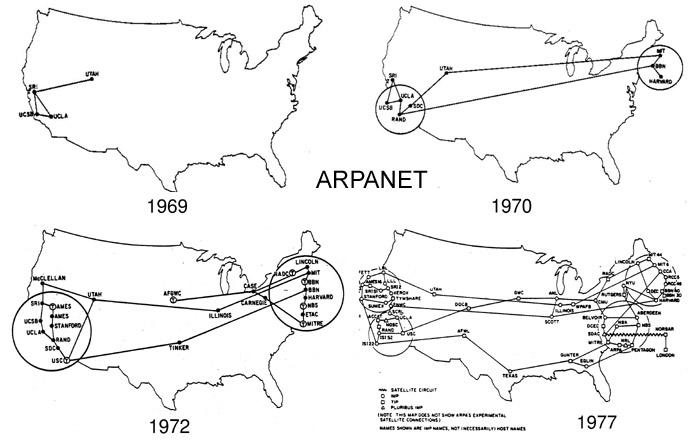 Historia del Internet: Quién, cuándo y cómo se inventó