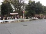 2016年4月2日六義園さくら祭り混雑状況