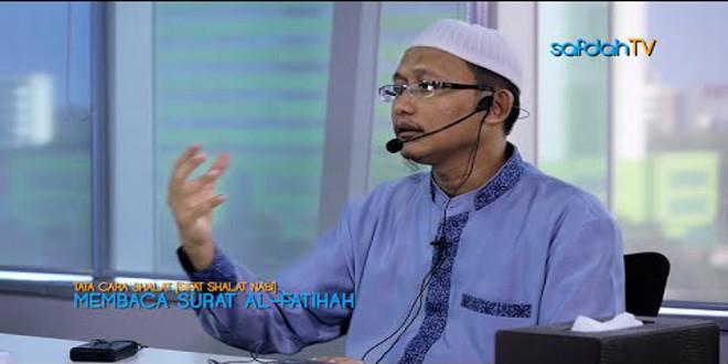 Video : Sifat Shalat Nabi (5) – Membaca Al-Fatihah