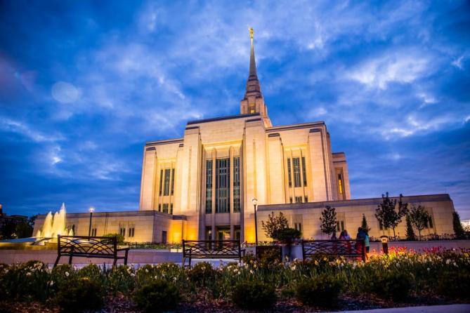 Temple Ogden Utah