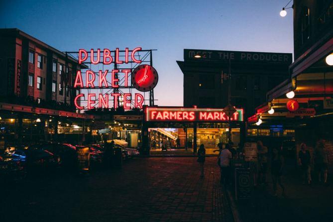 Pike Place Public Market Seattle